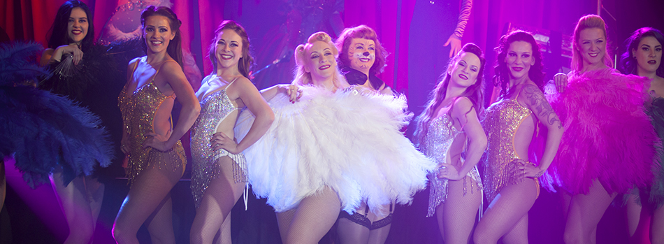The Cast of Burlesque on Ice